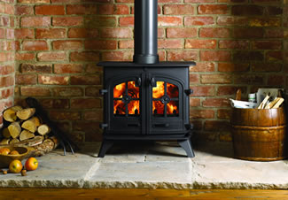 The cast iron Hobbit offers 4kw and is popular in narrow boats, garden houses and petite rooms