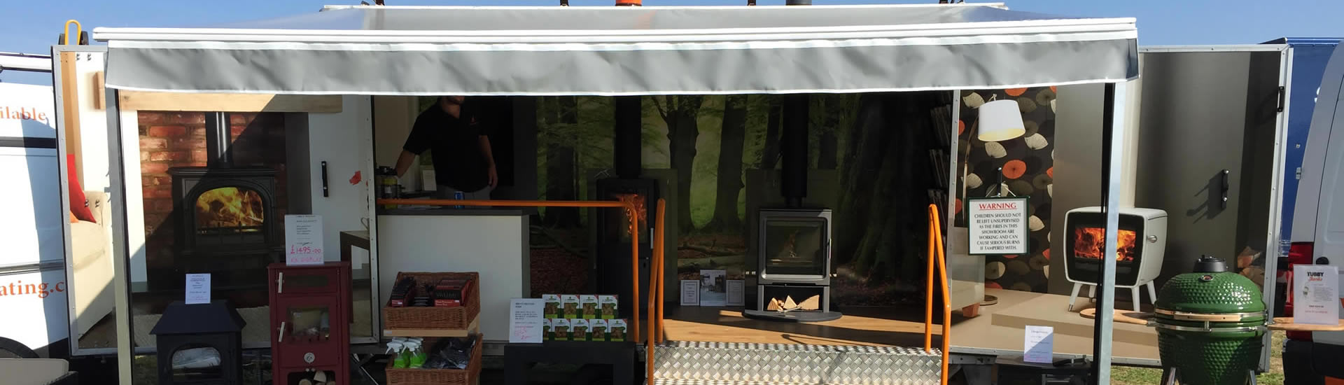 <span class='title t1'>Fires &amp; Stoves</span><span class='text'>See our stand at local country shows</span>
